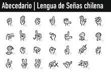 Abecedario Dactilológico Lengua De Señas Chilena