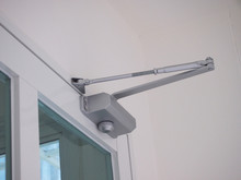 Automatic System Hydraulic ,leaver Hinge Modern Glass Door Closer Holder.