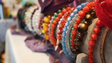 Assortment Of Bracelets On Display