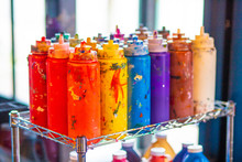 Colorful Arts And Crafts Paint...
