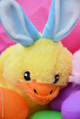 Stuffed Animal Duck