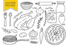 Kitchen Utensils Vector Elemen...