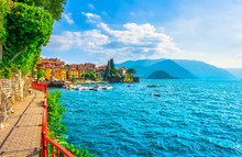 Varenna Walk Of Lovers, Como L...