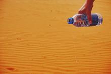 An Open Plastic Bottle Of Wate...