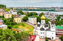 Our Lady Of Kazan Church In Nizhny Novgorod, Russia