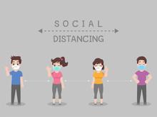 Social Distancing, People Keep...