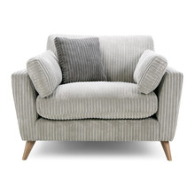 Cuddler Chair Seat Isolated. G...