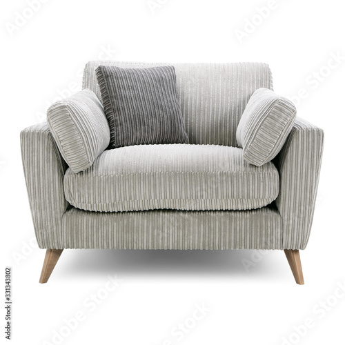 Photo Cuddler Chair Seat Isolated