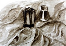 Art Watercolor Painting Fine A...