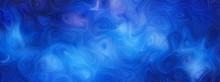 青い渦巻き模様