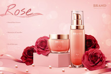 Elegant Rose Cosmetic Ads
