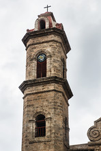 Old Church Tower In Trinidad, Cuba, Central America