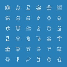 Editable 36 Horse Icons For Web And Mobile