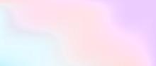 Pastel Color Gradient. Pale Sh...