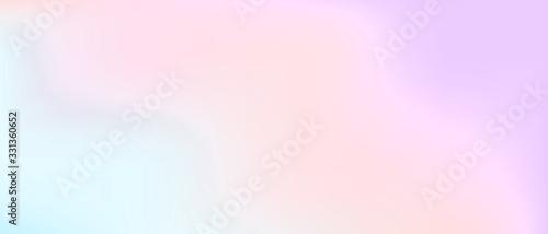 Obraz na plátně Pastel color gradient