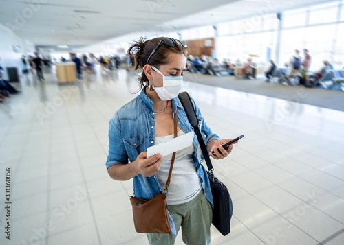 Fotografía Coronavirus outbreak travel restrictions