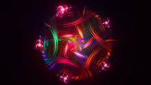 3D Rendering Abstract Colorful...