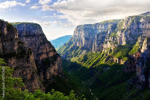 Photo Amazing Vikos canyon, Greece