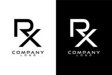 RX, XR Initial Letter Logo Tem...