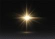 Flash of sun.