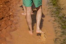 Foots Walking Through The Fair...
