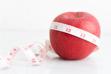 Apple Wrapped With Measure Tap...