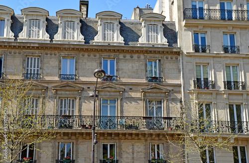 Paris; France - march 31 2019 : the Kleber avenue Fototapete
