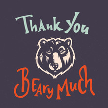 Thank You Beary Much Funny Car...