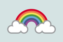A Rainbow For Hope And Wish