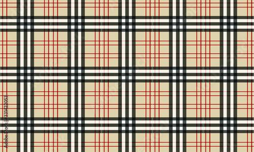 Fotografija Burberry style Tartan Pattern