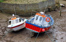 Fishing Boats Staithes North Y...