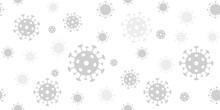 Coronavirus Background. Vector...