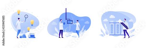 Fotografía Science genetic laboratory concept