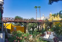 Bridge Of Sighs Of Barranco In Lima