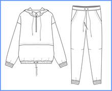 Sweatshirt, Sweatpants Fashion...
