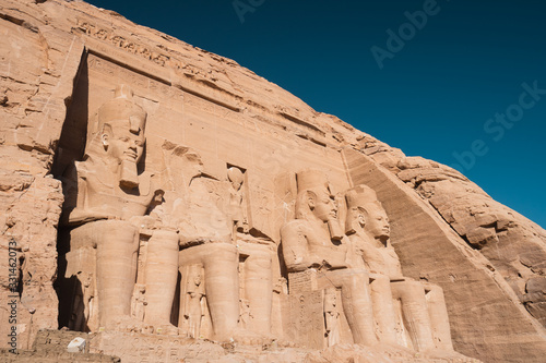 Photographie Abu Simbel temple in Aswan, Upper Egypt