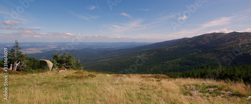 Fototapeta the karkonosze mountains obraz