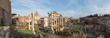 Ruins Of The Roman Forum At Du...