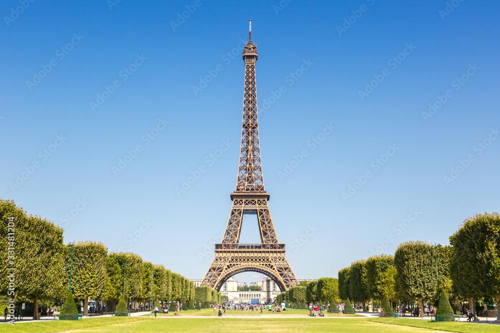 Eiffel tower Paris France travel traveling sight landmark