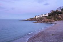 Grisham Beach Devon England Uk...