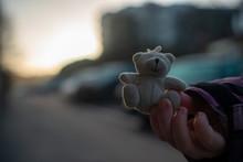Teddybear In Hand
