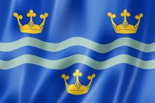 Cambridgeshire County Flag, UK