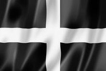 Cornwall County Flag, UK