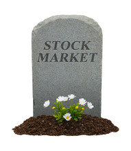 Stock Market Gravestone
