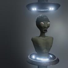 Alien In Laboratory