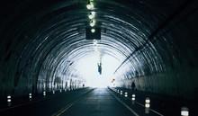 Modern Underground Tunnel In D...