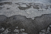 Potholes And Crumbling Highway...