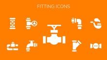 Fitting Icon Set