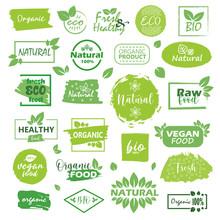 Big Set Of Fresh Eco Organic G...