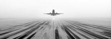 Airport Runway Fog